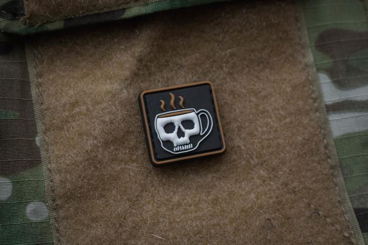 Coffee Ranger Eye Morale Patch