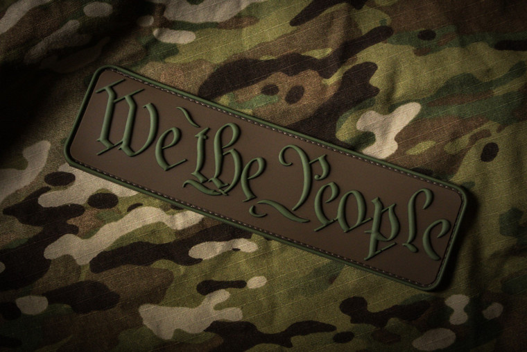 We The People Raid Patch Multicam