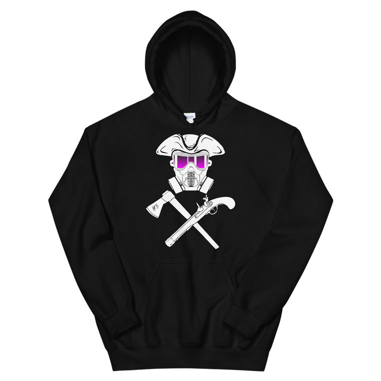 Gas Mask Jolly Roger Hoodie