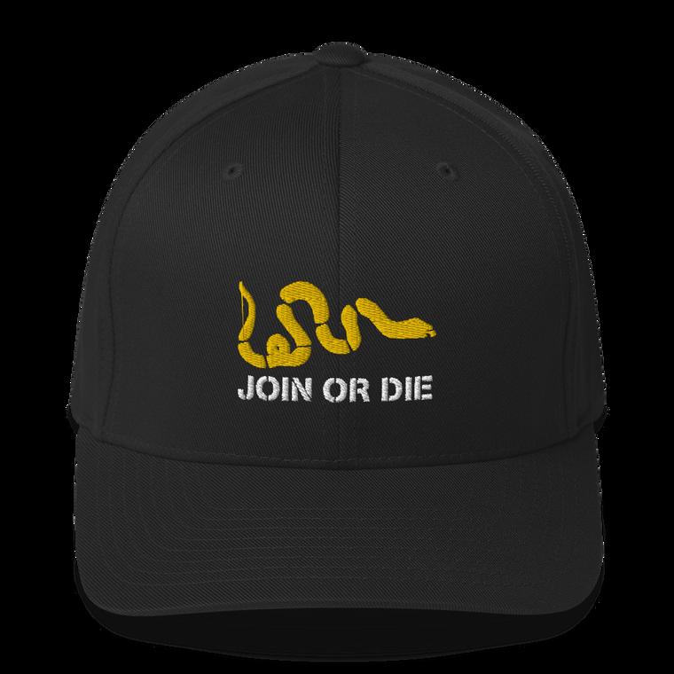 Join or Die Flex Fit Hat