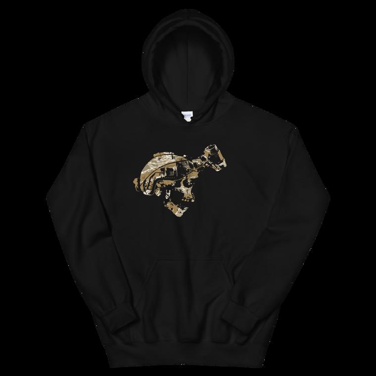 Guns Gear & Beer Desert Tiger Hoodie