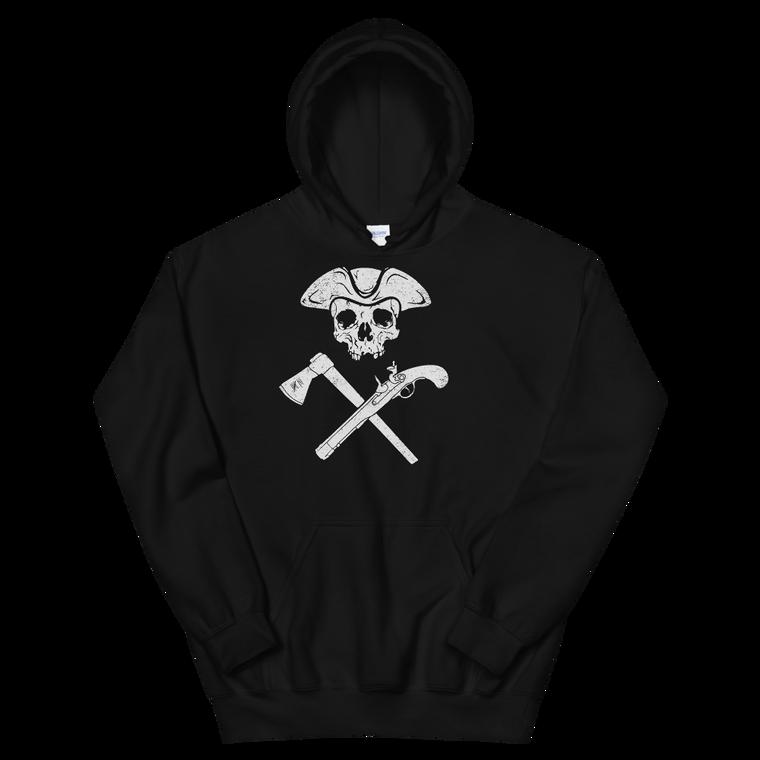 Jolly Roger Black Hoodie