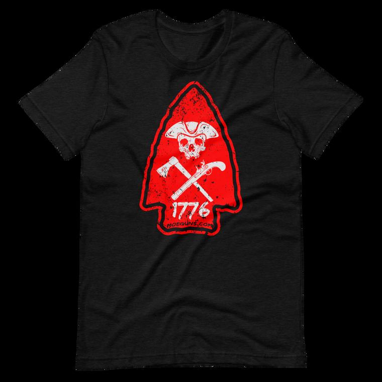 Red Arrowhead Short Sleeve Tee