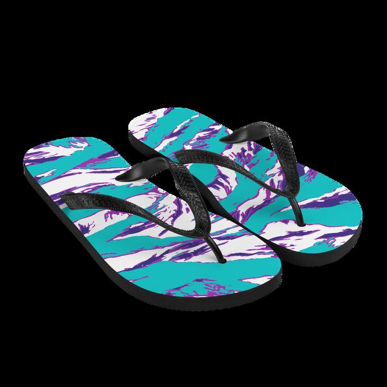 Baja Tiger Flip Flops