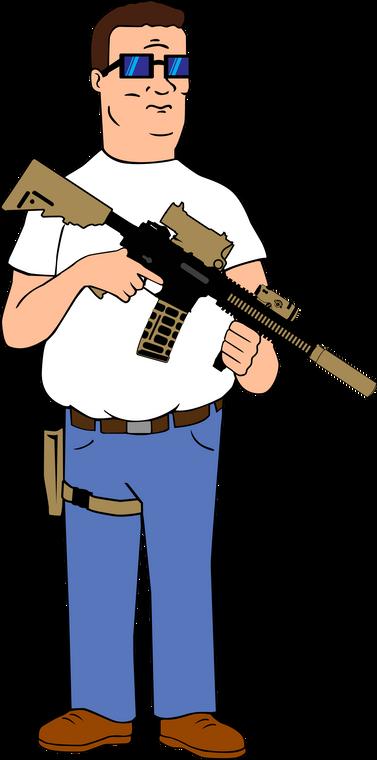 King of The Kill Hank Sticker