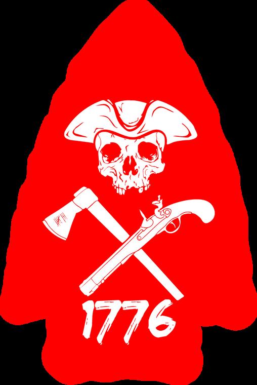 Arrowhead Red Sticker