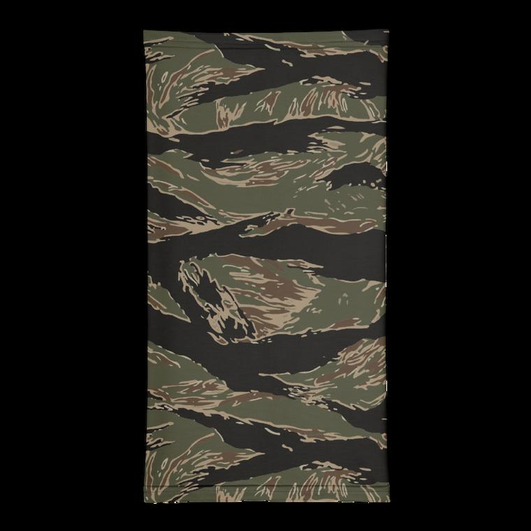Jungle Tiger Stripe Face Wrap