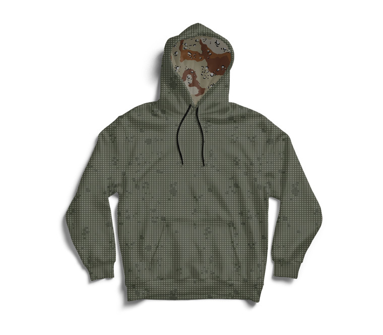 Desert Night Camo Chocolate Chip Hoodie