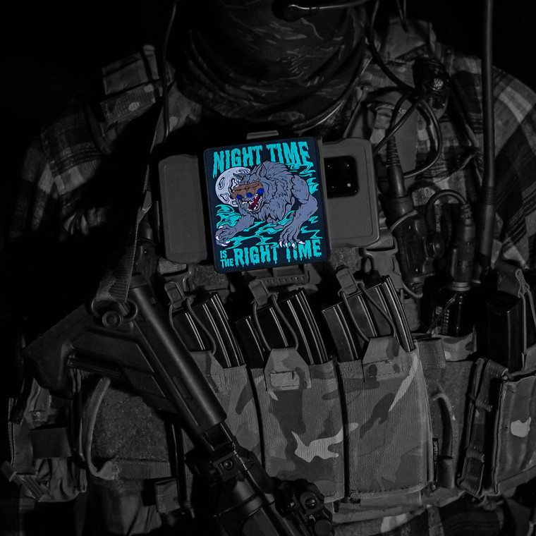 Night Time Is The Right Time Morale Patch
