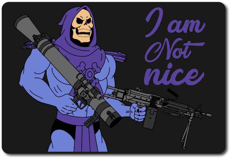 I Am Not Nice Sticker