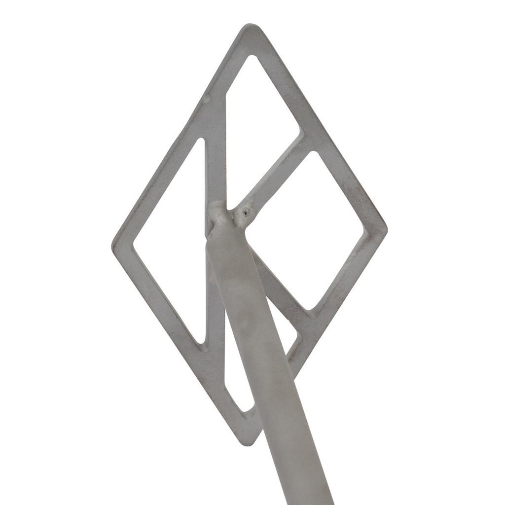 Kappa Diamond branding iron close up