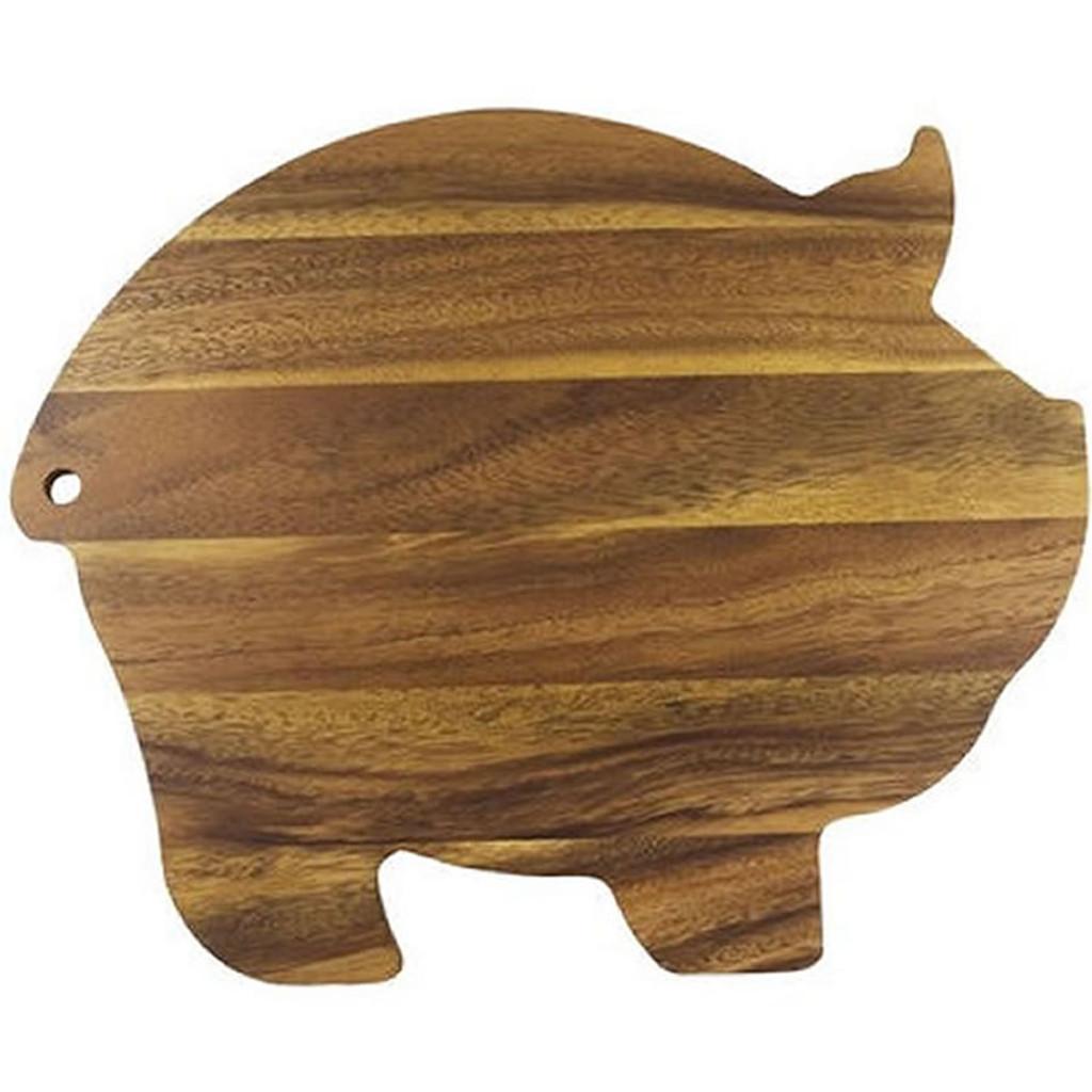 Acacia Wood Pig Cutting Board