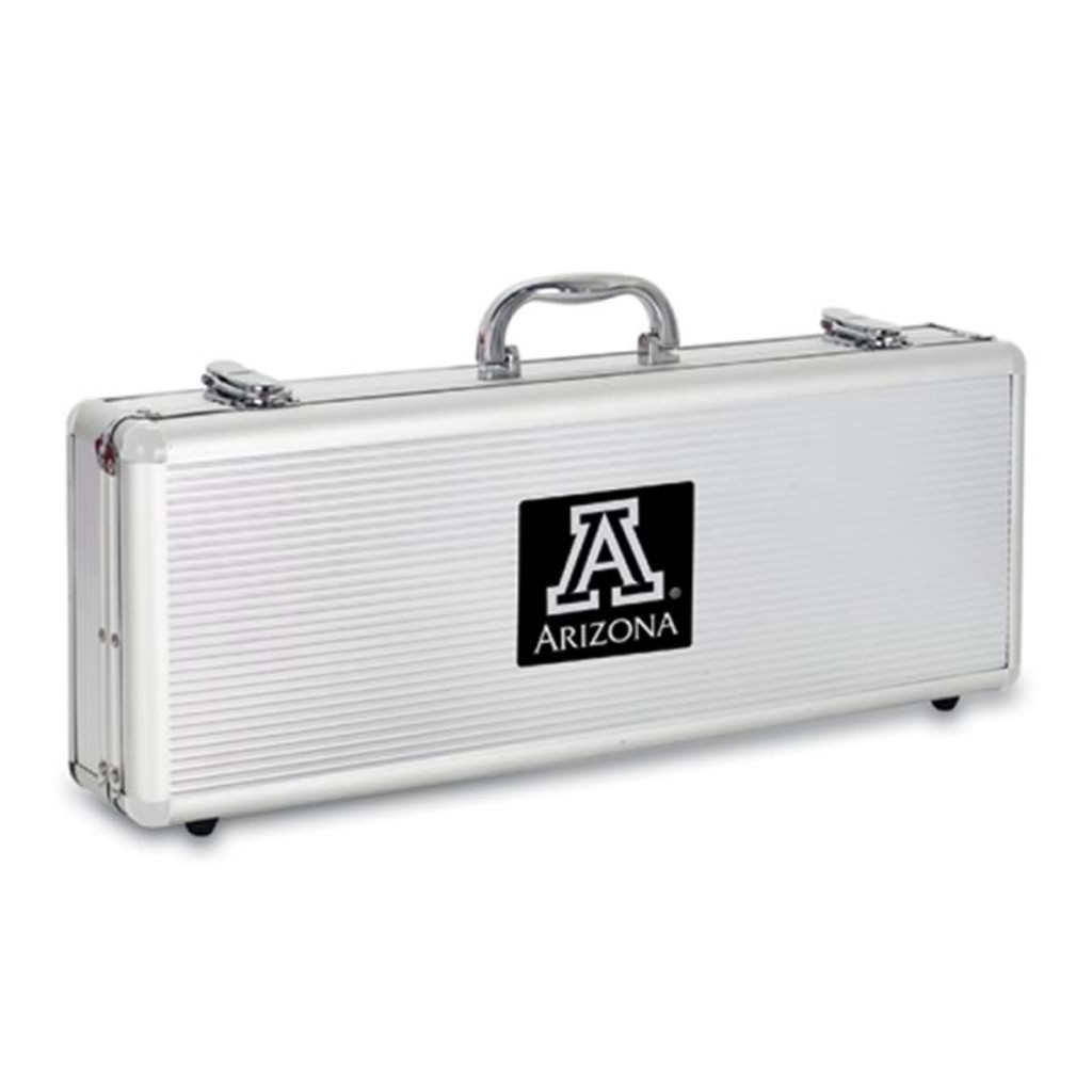 Arizona Wildcats BBQ Tools and Engraved Case