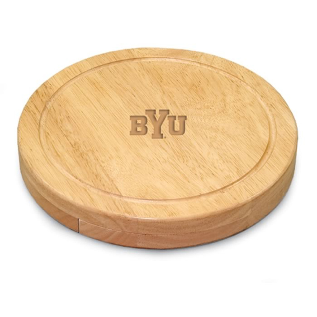 Brigham Young Cougars Engraved Cutting Board