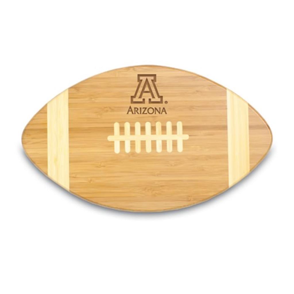 Arizona Wildcats Engraved Football Cutting Board
