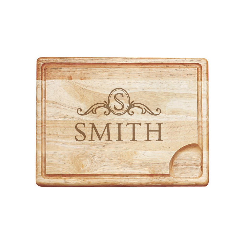 Langham Monogram Carving Board