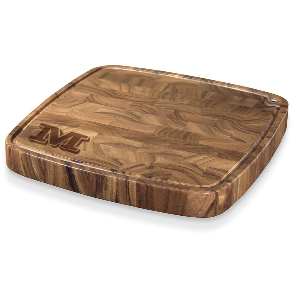 Vienta Initial Personalized Carolina Cutting Board