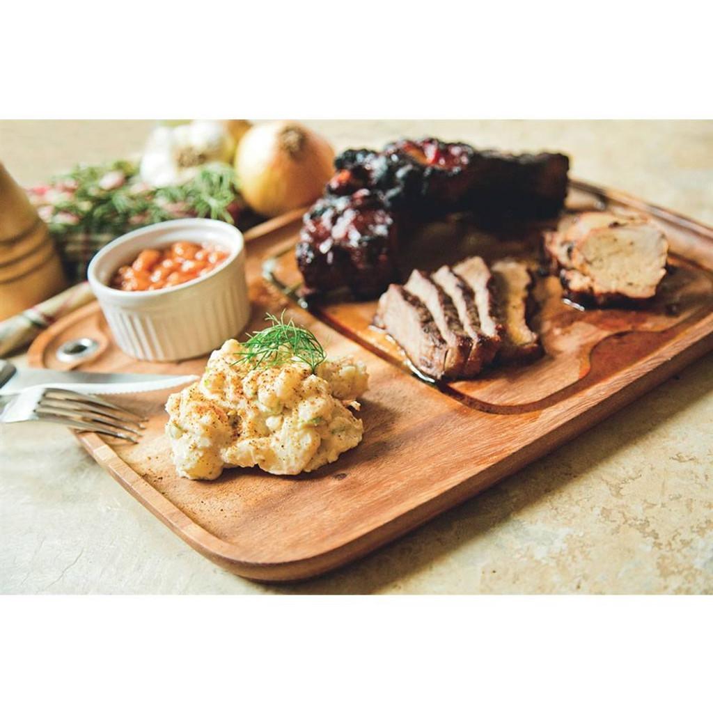 Acacia steak plate 28101