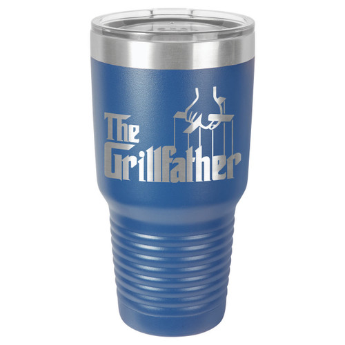 THE GRILLFATHER 30 oz Drink Tumbler With Straw