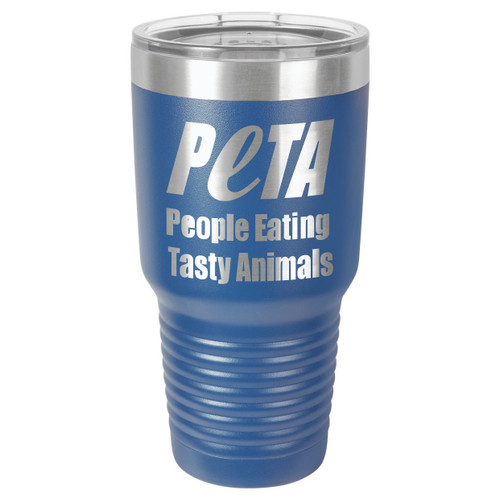 PEOPLE EATING TASTY ANIMALS 30 oz Drink Tumbler With Straw
