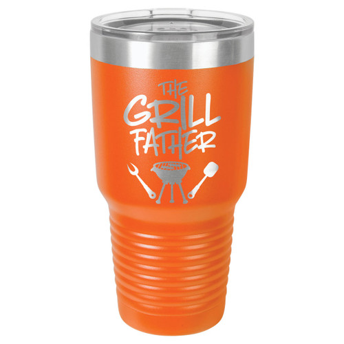 THE GRILLFATHER-B 30 oz Drink Tumbler With Straw