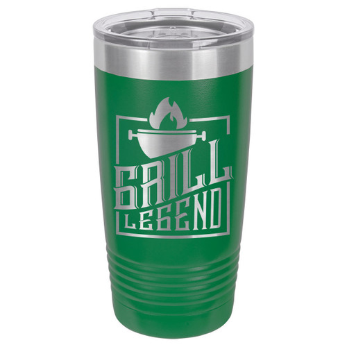 GRILL LEGEND 20 oz Drink Tumbler With Straw