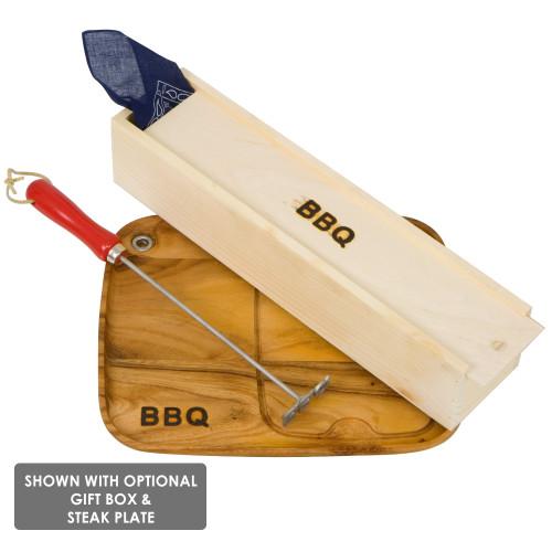 Arrowhead BBQ Branding Iron box set