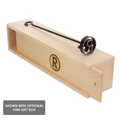 Arrowhead BBQ Branding Iron with Box