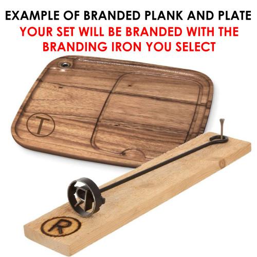 Classic Monogram Branding Iron
