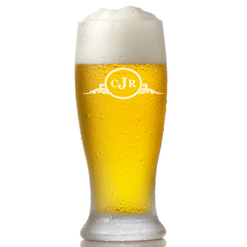 Personalized Pilsner Pub Glasses
