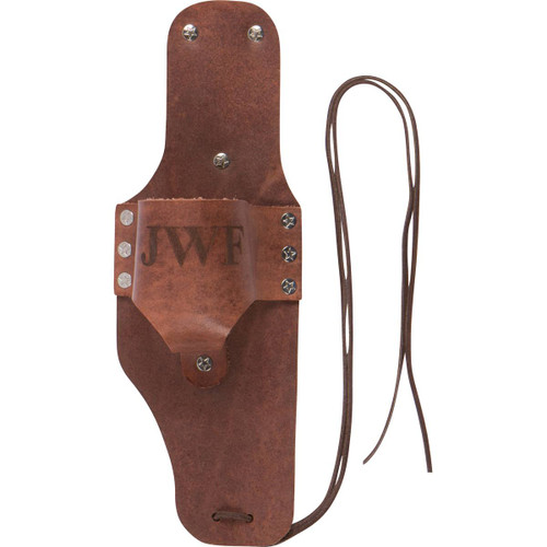 Personalized Leather Beer Holster