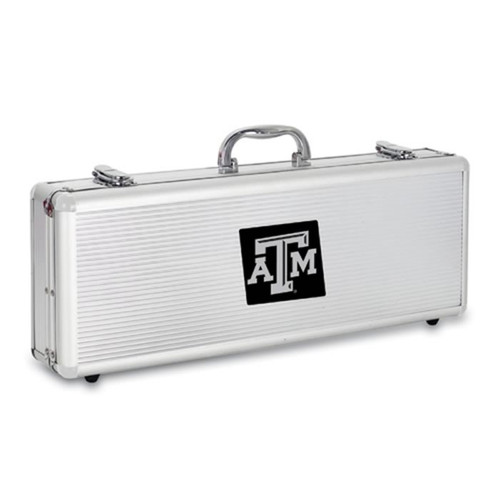 Texas A&M Aggies BBQ Tools and Engraved Case