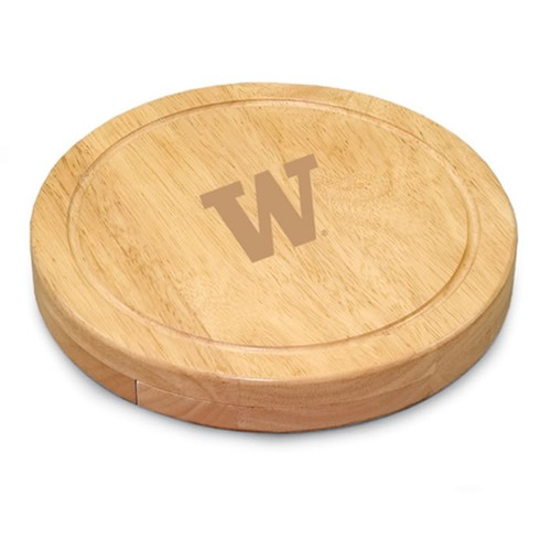 Washington Huskies Engraved Cutting Board