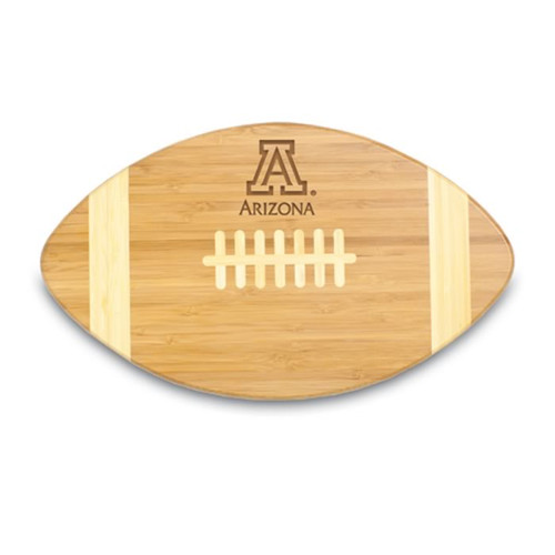 Arizona Wildcats Engraved Football Cutting Board