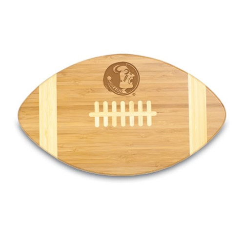 Florida State Seminoles Engraved Football Cutting Board