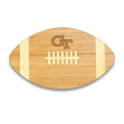 Georgia Tech Yellow Jackets Engraved Football Cutting Board