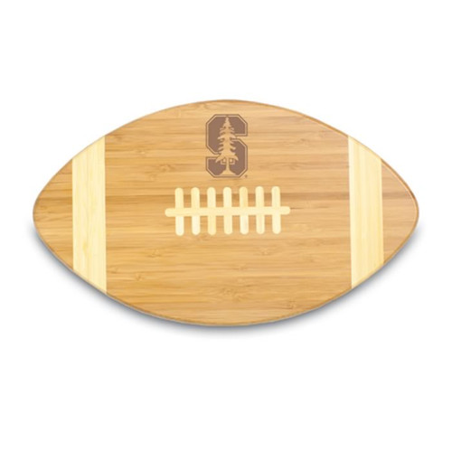 Stanford Cardinals Engraved Football Cutting Board
