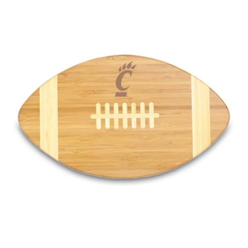 Cincinnati Bearcats Engraved Football Cutting Board