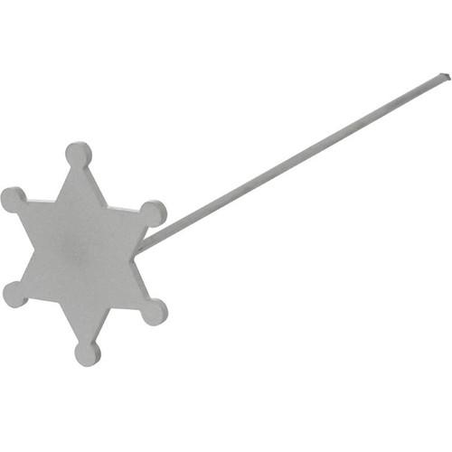 Mini Sheriffs Badge Branding Iron