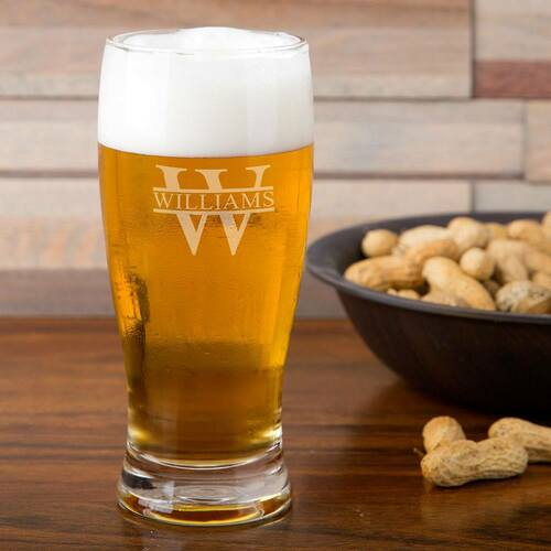 Biltmore Personalized Pilsner Glass