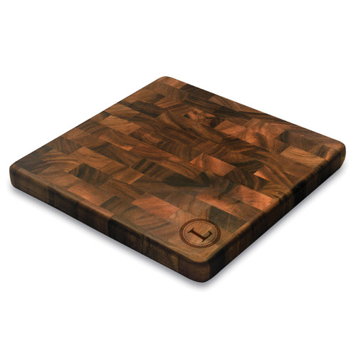 Celtic Circle Personalized Square End Graing Cutting Board