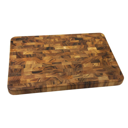 Empire Personalized Large End Grain Cutting Board