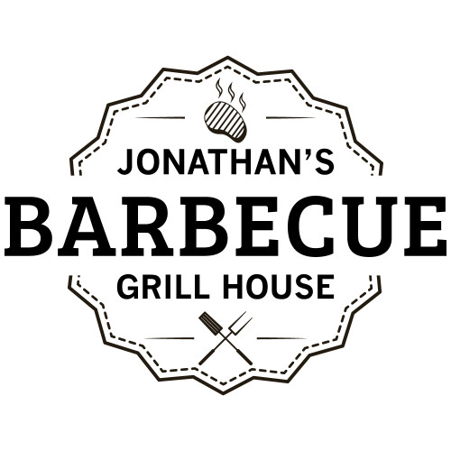 grill house laser engraved design