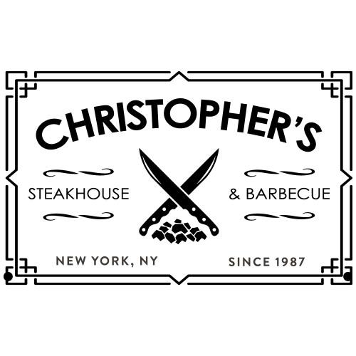 steakhouse laser engraved design