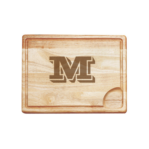 Vienta Initial Personalized Carving Board