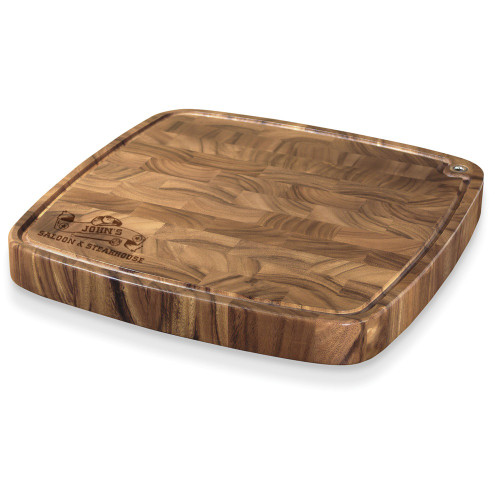 Western Saloon Personalized Carolina Cutting Board