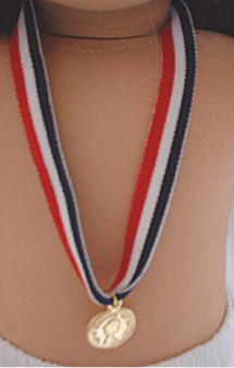 Olympic Gold Medal fits 18 inch American Girl Dolls
