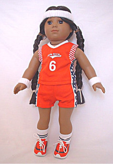 Basketball Set For 18 Inch American Girl Dolls