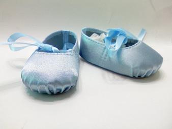 Blue Hard Toe Ballet Slippers
