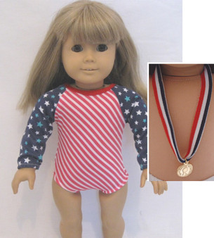 Red, White And Blue Leotard